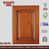 Porta de gabinete de cozinha de teca de estilo coreano (GSP5-040)