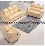 Sofà adagiantesi di cuoio moderno di vendita caldo del sofà del cuoio della mobilia del salone