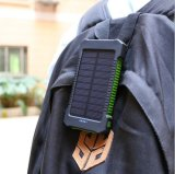 ¡alta capacidad 5000mAh! Batería superventas de la energía solar del diseño de la manera impermeable y energía solar de la resistencia de la gota
