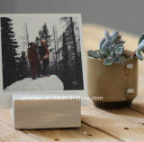 Держатель изготовленный на заказ логоса деревянный для меню печати фотоего карточки