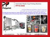 6 Farben-Plastikcup-Offsetdrucken-Maschine