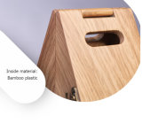 Retro Funcional decorativo Bamboo-Plastic Wine Display Rack Box
