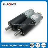 motore dell'attrezzo di CC 12V con la piccola scatola ingranaggi di riduzione
