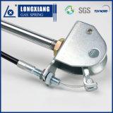 Resorte de gas bloqueable de la alta calidad de plata del color con la horquilla