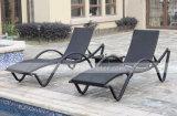 Rattan Sun Lounge Set y muebles de jardín