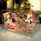 Дом куклы игрушки девушки с крышкой