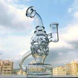 Mini tubo di acqua di vetro dell'impianto offshore dell'uovo di Faberge del cranio di nuovo disegno