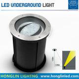 Luz subterrânea ajustável do diodo emissor de luz 18W do ângulo de feixe