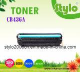 Toner de la impresora laser de CB436A para la impresora del HP