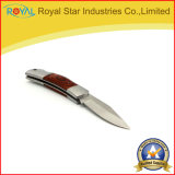 Pakkawood 손잡이를 가진 옥외 접히는 사냥칼 야영 칼