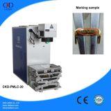 20W Mopa Faser-Laser-Gravierfräsmaschine-Markierungs-Farbe für Metall