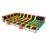 Gute Qualitätskind-weicher Spielplatz-Trampoline-Park mit Schaumgummi-Vertiefung