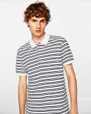 Рубашка пола нашивок людей с короткой втулкой