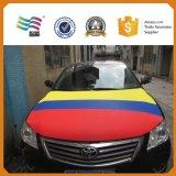L'abitudine di promozione ha stampato il coperchio del cappuccio dell'automobile della bandiera nazionale del Cile di disegno