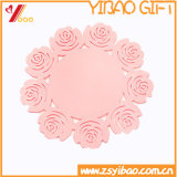 Coaster de cadeau en PVC sans glissement personnalisé (YB-HR-384)