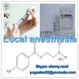 Хлоргидрат прокаина CAS химикатов местной наркотизации: 51-05-8 от фабрики Китая
