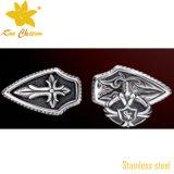 Gemelli francesi di lusso di cerimonia nuziale della fabbrica del gemello di disegno
