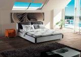 Base del cuero de los muebles del dormitorio (SBT-5801)