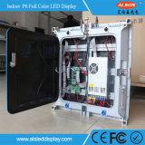 Indicador de diodo emissor de luz interno Rental da cor P5 cheia para o fundo de estágio