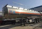 유조선 40000 리터 알루미늄 합금 연료 40000 L 반 스테인리스 트레일러