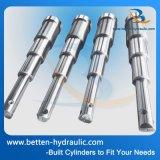 Cilindro hidráulico telescópico de 2 etapas para los vehículos de la construcción