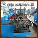 Aluminio y rodillo material de la bajada de aguas de PPGI que forma la máquina