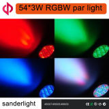 het LEIDENE 54*3W RGBW PARI kan voor het Leven aansteken toont, Partij, Disco en Gebeurtenis