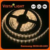 Éclairages LED imperméables à l'eau de bande de l'éclairage 24V de haute énergie pour des hôtels