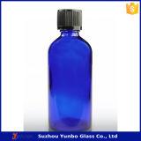 бутылки капельницы синего стекла кобальта 100ml с крышками