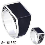 고전적인 모형 형식 보석 925 순은 반지