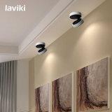 3With5With7With10With12W luz montada superficial del punto de la MAZORCA LED para la iluminación comercial con el proyector blanco negro de la MAZORCA