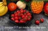 Устранимая Unheated черная восьмиугольная коробка волдыря фрукт и овощ