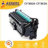 Toner CF360A 361A 362A 363A para HP Color M552dn / M553n / M553dn / M553X