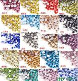 비 최신 고침 못 기술 (FB-SS6 백색 oppal)를 위한 유리제 Strass 돌