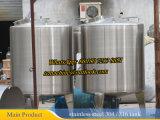 La mezcla de vapor del tanque de 500 litros con mezclador de alto cizallamiento de calefacción