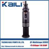 pompa di miniera (a più stadi) sommergibile Oil-Filled della pompa delle acque pulite della pompa di 20HP QY