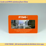 Cartões no cartão plástico do PVC do cartão do cartão de jogo