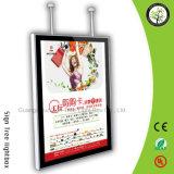 Rectángulo ligero magnético publicitario de aluminio de Frameless LED de la venta caliente en línea