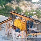 машина дробилки утеса дробилки удара завода каменной дробилки 50-90tph минеральная