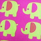 Desbloquear de nuevo producto 400d la tela impresa elefante para el bolso del almuerzo