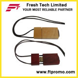 Lecteur flash USB en bois/en bambou respectueux de l'environnement avec le logo (D801)