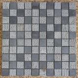 회색 현무암 모자이크, 모자이크 타일 및 돌 모자이크