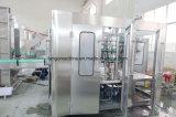 Automatischer kompletter alkoholischer Verpackungs-Pflanzenproduktionszweig der Getränk-Bier-Wein-Öl-Wasser-Saft-Getränkefüllmaschine-4in1 3in1 Monoblock abfüllender
