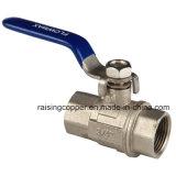 Constructeur en laiton de robinet à tournant sphérique
