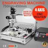 Máquina del laser Engreaving del ranurador del CNC de 4 ejes