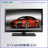 "Adelgazar 18.5 "" soportes dobles H. 265 de DVB-S S2 Tunner Digital LED TV"