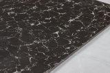 黒く白いPulatiをロードする建築材料の倍は磁器のタイルによってガラス化された床タイルのよい価格を磨いた