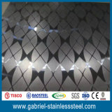 AISI 304 цена листа нержавеющей стали вытравливания отделки 316 зеркал в Kg