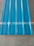18-76-836 la anchura del milímetro prepintó PPGL acanalado coloreado PPGI para el material para techos del metal