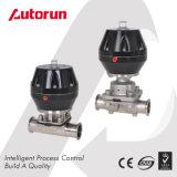 Válvula de diafragma pneumática de qualidade sanitária Wenzhou
